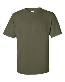 Футболка мужская однотонная 150-160 г/м2, цвет хаки