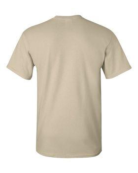 Футболка мужская однотонная 160 г/м2, песочный цвет